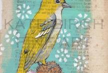 Рисунки птицы)