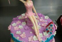 ballerina cake birthday