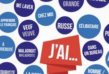 Posters français / Des posters pour apprendre le français