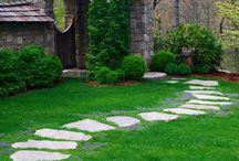 Simple Garden Path Designs / Garden Path Designs