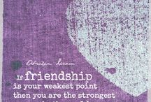 FRIENDSHIP / There's nothing more important to me than our friendship ps: I wish you lived next door (: <3
