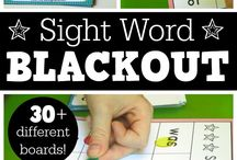 sight words and spelling / Anything and everything sight words, high frequency words, and spelling words. Activities that can be used with any word-learning technique.