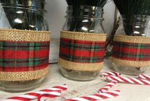 Christmas 2016 / Plaid and Burlap Christmas
