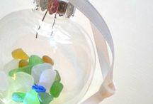 She Finds Sea Glass.... / by Kim Gallant