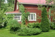 Finland end Finland garden / Сада, парки, впечатления