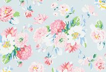 Room Seven 'Field of Flowers' Wallpaper Collection / Close your eyes and be transported to a grassy meadow full of summer flowers and feel the gentle breeze pervading the trees with our new wallpaper collection 'Field of Flowers' from Room Seven!   The selection of floral prints in pastel colours is the perfect antidote to the shortening days and cooling temperatures, which will remind you that summer is never very far away!