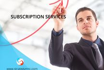 Subscription services / We are the leading research subscription services providers in India. We have a core research team to develop market research reports across the industry verticals and segments on contemporary and most on demand topics.