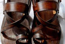 Летняя обувь кожа