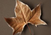 Leaves zentangle