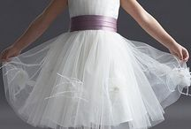 Flower Girl and Bridesmaid Dresses