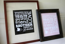 Printables to Frame / Most of these printables are free...so, print, frame and give as a gift!  Cheap & Cheerful! / by BudgetDiet