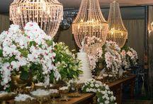 Festas de Casamentos / Decoração de casamentos
