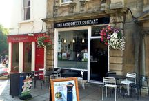 Cafés & Coffeehouses in Bath, England / From the coffee mecca, Kingsmead Square to coffee pockets. Find your favourite café or coffeehouse.