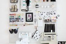 organizar espacios / closet y estacion de trabajo