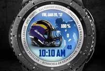 Themed Watchfaces / NFL