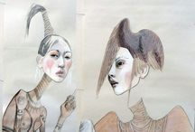 Anne Sophie Madsen / Anne Sofie Madsen is a Danish designer. She has a different and unique expression in her designs. And then she makes some beautiful and caractaristic illustrations .
