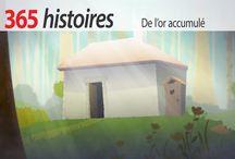 365 histoires vidéo en français