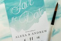 Save the date ideas / Wedding day