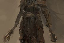 Armor, knight, warrior