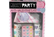 Ricky's NYC: Valentine's Day / Happy Valentine's Day from Ricky's NYC! #Kisses #XOXO http://www.rickysnyc.com/ / by Ricky's NYC