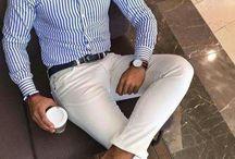 白パンツ 着こなし