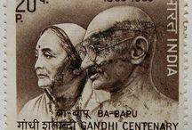 India hindistan stamp
