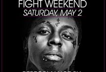 Fight Weekend Party Guide | Fight Weekend Parties 2015 / Las Vegas will become more gloriously alive than you have ever seen it, filled with A-list entertainers partying the night away. The long awaited Mayweather vs Pacquiao boxing showdown will usher in the masses to Sin City for the infamous Vegas Fight Weekend after-parties. Discover best events happening in Las Vegas, May 1st-3rd, during Mayweather Fight Weekend. Purchase tickets or plan poolside VIP reservations w/ bottle service at best Vegas clubs, day or night @ www.vegasclubguides.com