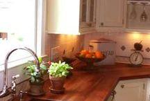 Interiores / Cozinha. Ideias para cubas de pia e planejados.