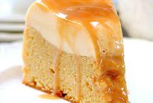 Food Deserts Leche Flan Cake