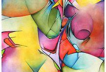 АКВАРЕЛЬ watercolor / Акварель - великое искусство! Утоляет жажду каплей влаги...