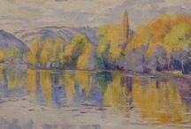 Pintura: Georgette Agutte. French painter / Pintora y escultora francesa fallecida en 1922. Exposición en el Musée de Grenoble (Francia), 12-2014