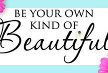 Beauty Beneath The Surface / True beauty is so much more than a pretty face, the perfect size, stylish clothes, fancy shoes or fabulous hair do.