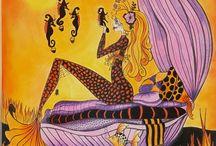 Mermaids in paradise (Denyse Klette)