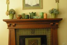 Fireplaces Craftsman Style