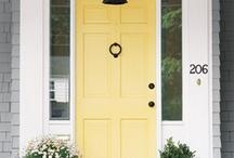 Les maison jaunes