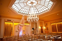 Mayflower Hotel Promenade Ballroom / Wedding ceremony, reception and dinners celebrated at the Mayflower Renaissance Hotel in Washington, D.C. / by Cliff Schamber