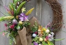 Tavaszi, húsvéti dekorációk
