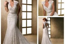Wedding dresses with lace back
