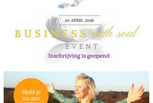Business with soul event 10 april / 10 april geef ik mijn eerste event: Het Business with soul event in Groepsbeek bij Nijmegen. Als jij ook vanuit bezieling een bloeiende praktijk wenst, zorg dat je er bij bent.