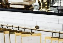 restaurant ideas/organize