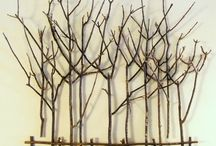Stick and twig art