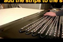 DIY Build a LED display by LED Strip / This Video show you how easy you build your OWN LED Display by LED strips