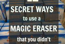 Magic Eraser Tips:::::::
