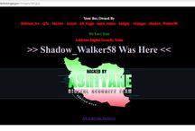 Website Defacements / Website defacement is an attack on a website that changes the visual appearance of the site or a webpage.