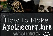 Halloween Decor Ideas // Michelle's Party Plan-It / Your source for all Halloween Decor Ideas. Crafts, project and more for decorating your home!