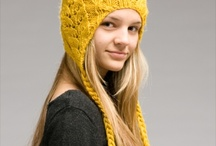 knit and crochet: Hats, Cowls, scarves, gloves / by Wally von Rubio