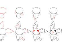 Como desenhar Pokémon