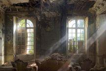 Lugares abandonados / Casas castillos barcos