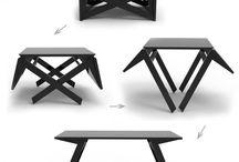 Столы-трансформеры / Идеи для реализации
