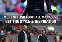 Football Managers Style Inspiration / Find some style and inspiration from the best football managers in the world. From the English Premier League to La Liga, dress like Mourinho, Guardiola and Wenger.